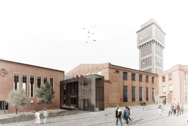 Visualisierung des Bergbaumuseums Oelsnitz: KEM Kommunalentwicklung Mitteldeutschland